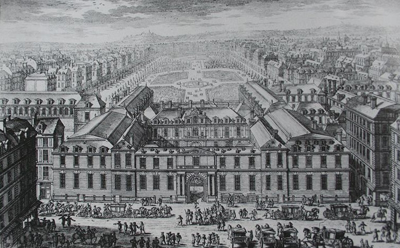 The Palais Royal under Louis XIV
