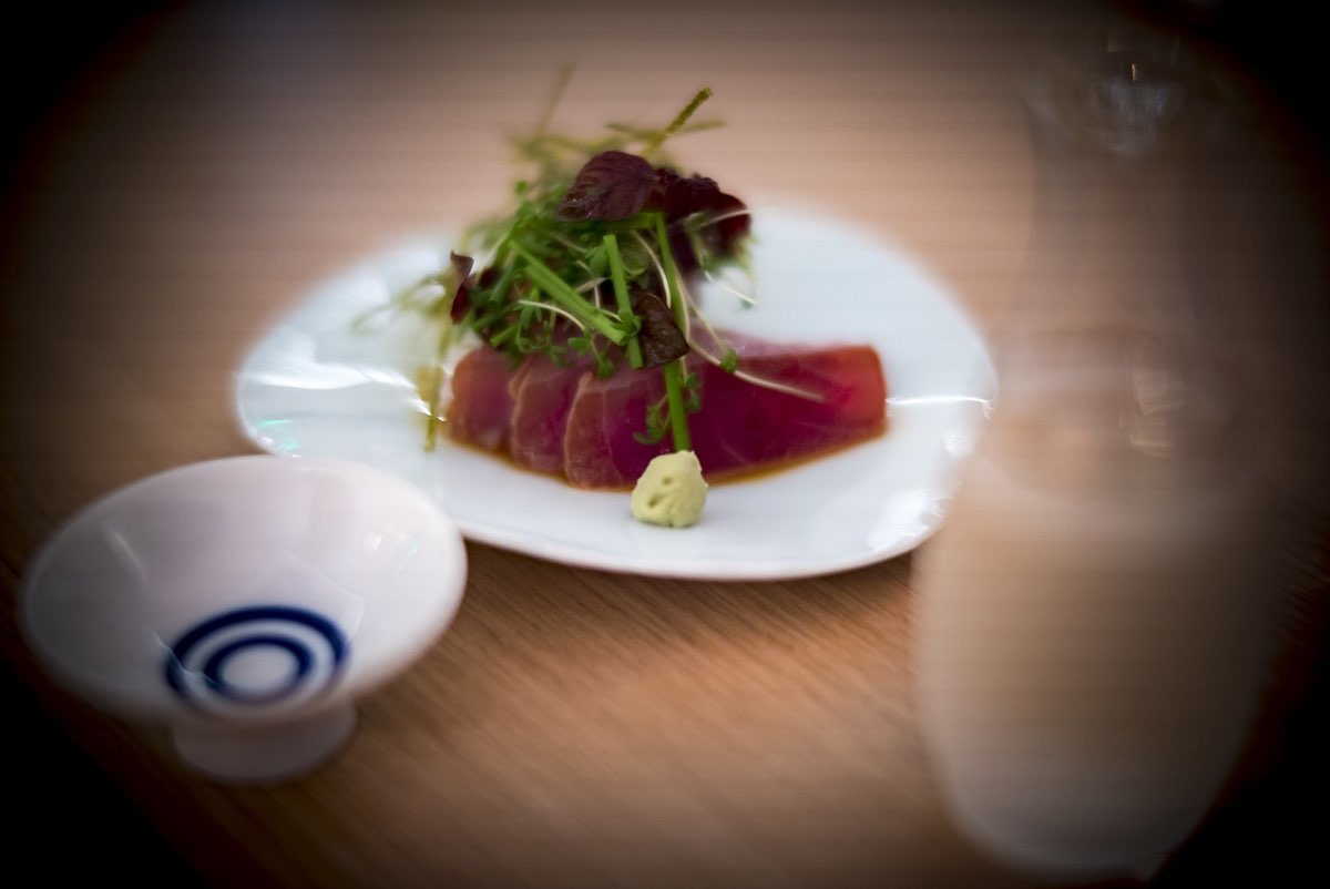 Maguro Zuke (marinated red tuna)